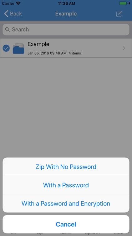 iZip Pro for iPhone screenshot-3