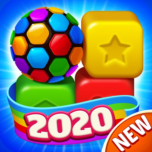Toy Brick Crush - タップ パズル ゲーム