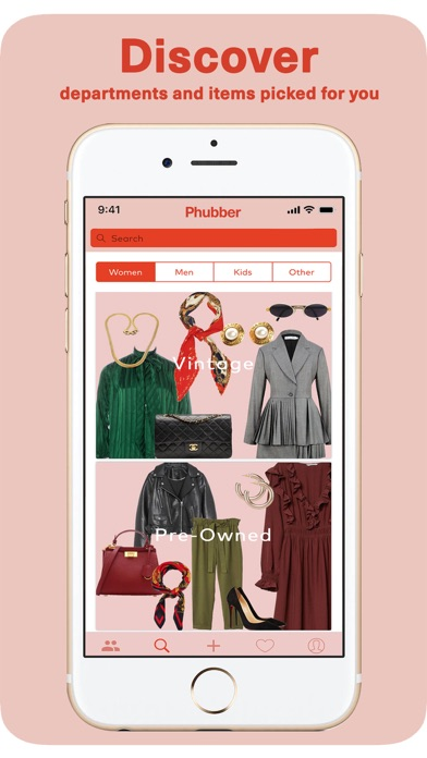 Screenshot for Phubber App in Denmark App Store