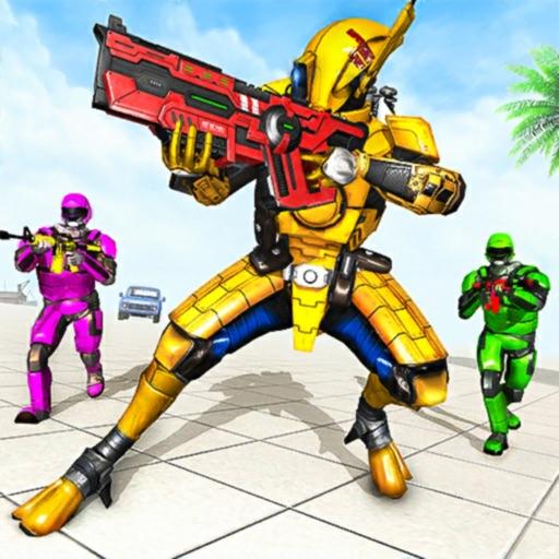 Mech War Robot Shooting Games