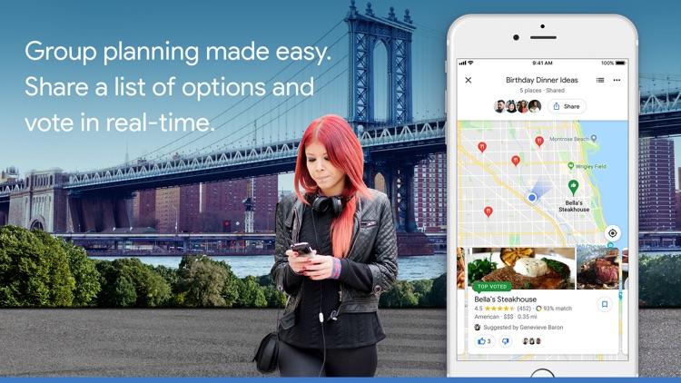 Google Maps - Transit & Food screenshot-4