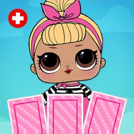 игра памяти куклы LOL