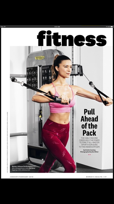 Womens Health Mag review screenshots