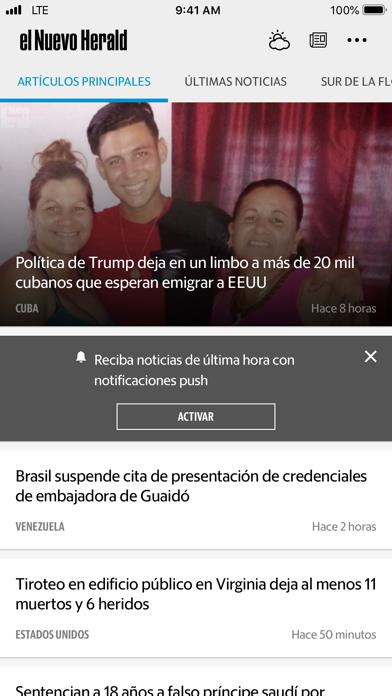 El Nuevo Herald Screenshot
