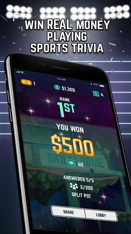 Skilli World-Real Money Trivia screenshot-0