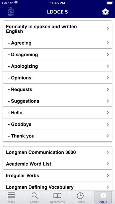 ロングマン現代英英辞典プラス ScreenShot7