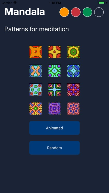 Mandala for Meditation screenshot-0