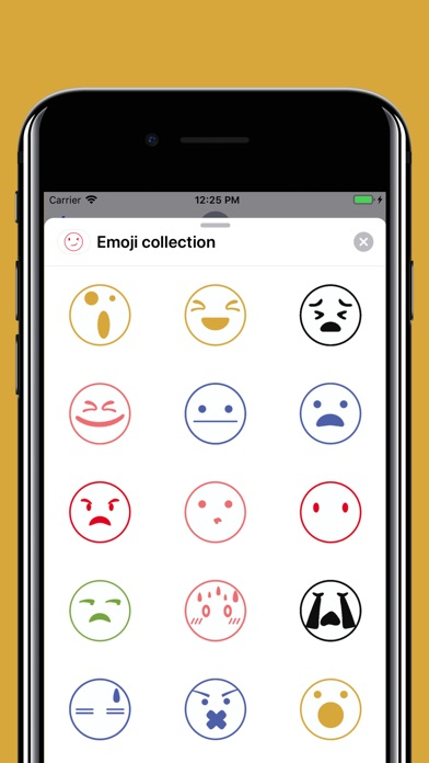 Funny smiley emojis stickers screenshot 1
