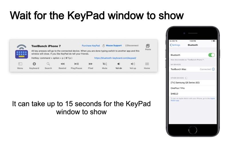 KeyPad - Keyboard and Mouse скриншот программы 7