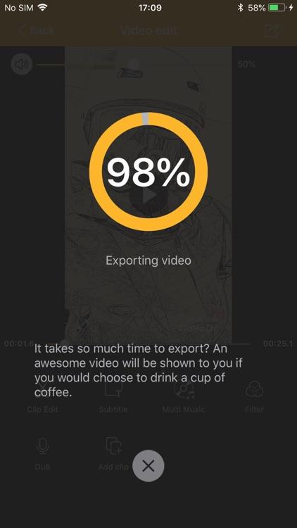 VideoKing-Video Editor & Maker screenshot-5