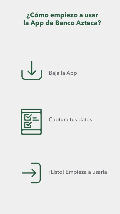 Screenshot for Banco Azteca in Mexico App Store