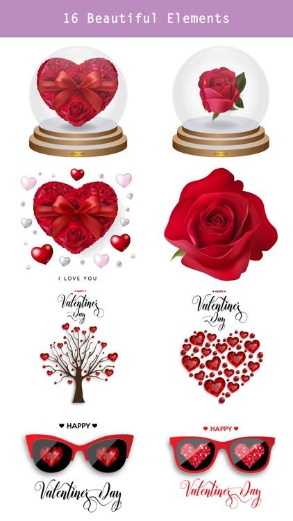 Say Love with Beautiful Rose screenshot-3