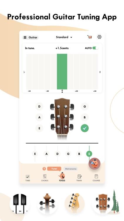 guitar tuner ,tabs - Gstring