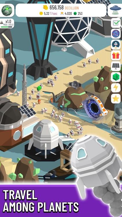 Space Colony: Idle screenshot-6