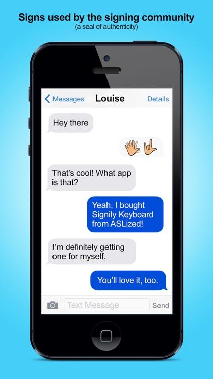 Signily - Sign Language Emoji screenshot-4