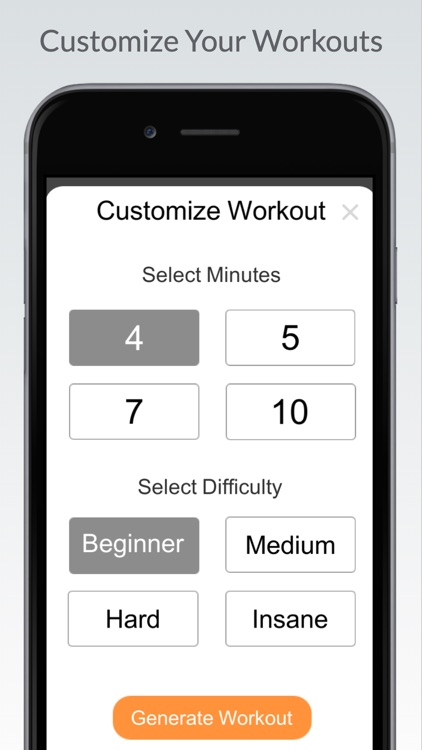 Quick Workout - Home Exercise screenshot-0