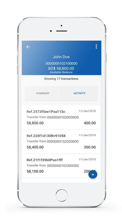 Belize Bank Mobile Banking screenshot-4
