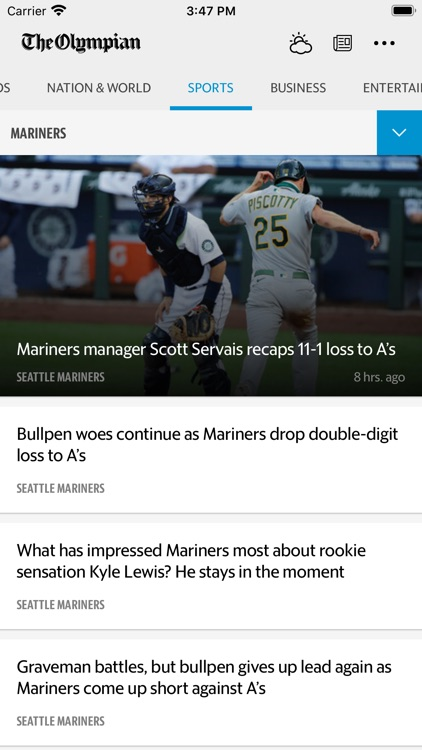 The Olympian News screenshot-3