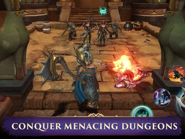 ‎Darkness Rises: Adventure RPG Screenshot