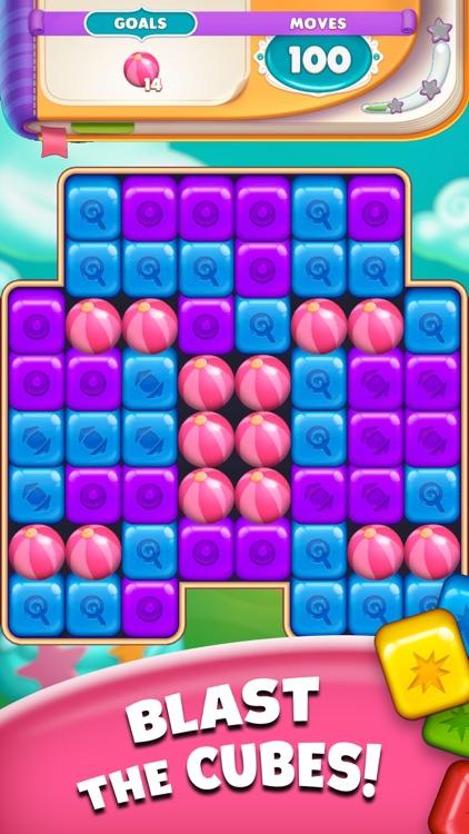 Cartoon Crush Pop Block Puzzle screenshot-0