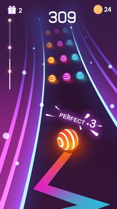 Dancing Road: Color Ball Run! screenshot 1