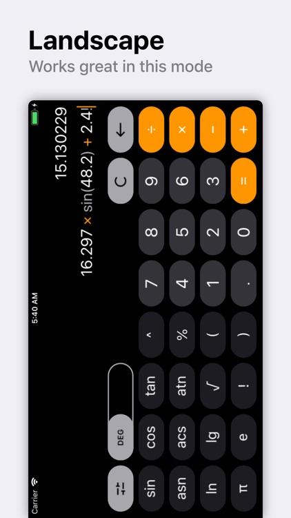 Calc Improved screenshot-3