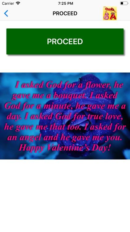 Valentine Day Wallpaper Quote screenshot-9