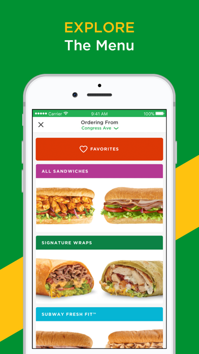 download SUBWAY® apps 4