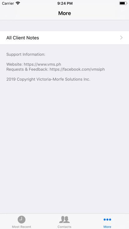 VMS ClientCall screenshot-5