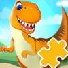 恐龙世界拼图游戏-早教启蒙益智游戏