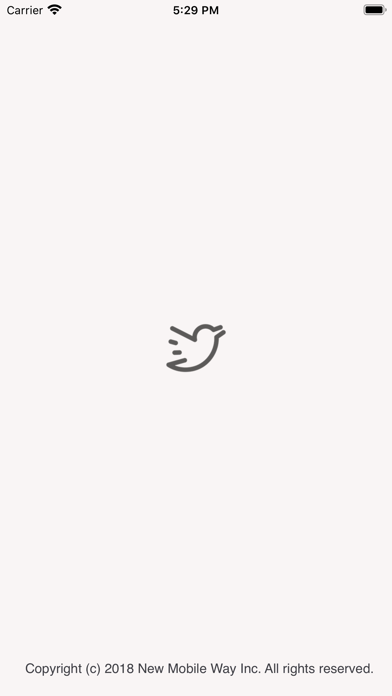 Simple T for Twitterのスクリーンショット