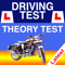 App Icon for Motorcycle Theory Test - 2021 App in Qatar App Store