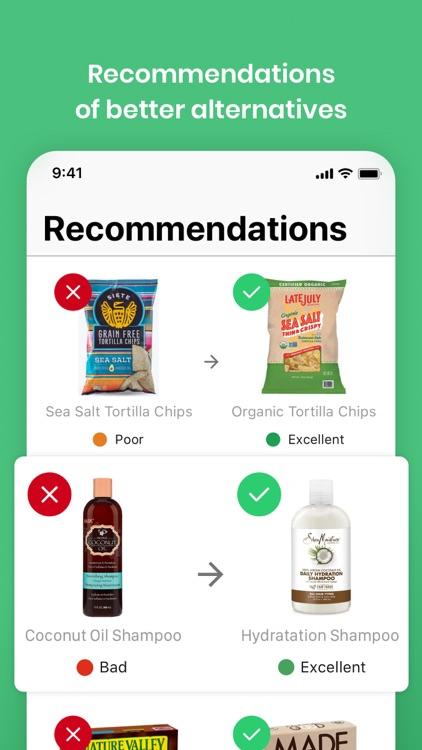 Yuka - Food & Cosmetic scanner screenshot-4