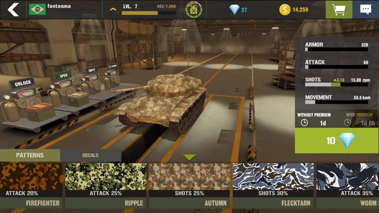 War Machines: Tank Games World