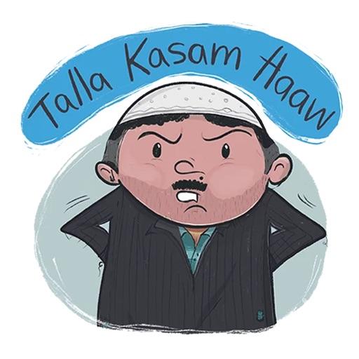 Kashmiri Stickers