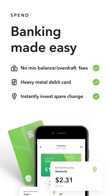 Acorns: Invest Spare Change screenshot-5