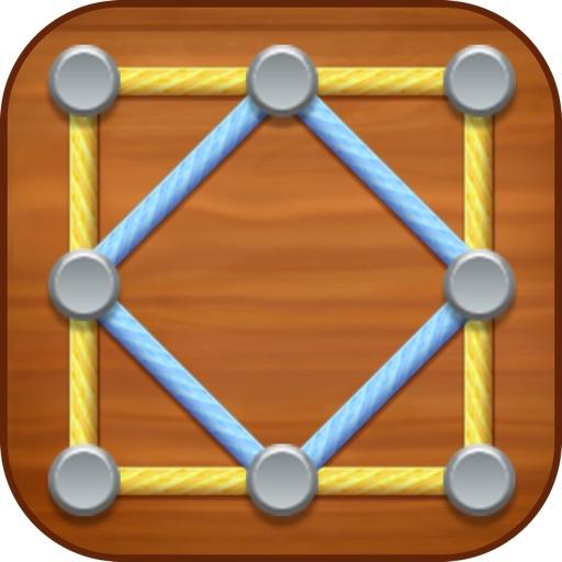 Line Puzzle: String Art iOS App