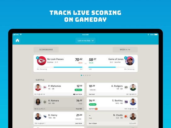 NFL Fantasy Football - Official NFL Fantasy App screenshot