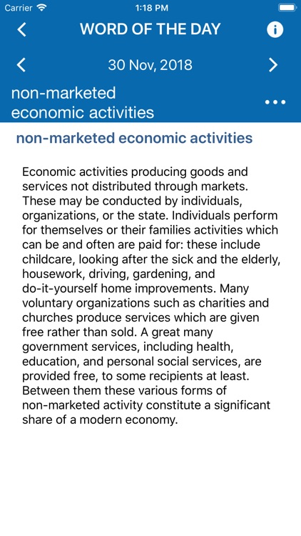 Oxford Dictionary of Economics screenshot-3