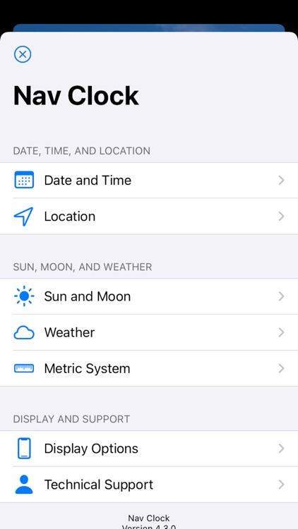 Nav Clock screenshot-5