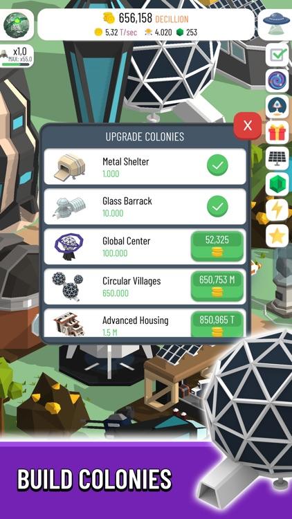 Space Colony: Idle screenshot-3