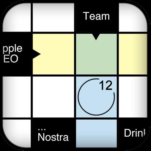Crossword Puzzle . icon