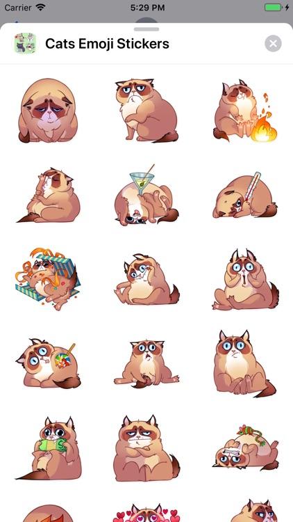 Cats Emoji Stickers screenshot-6