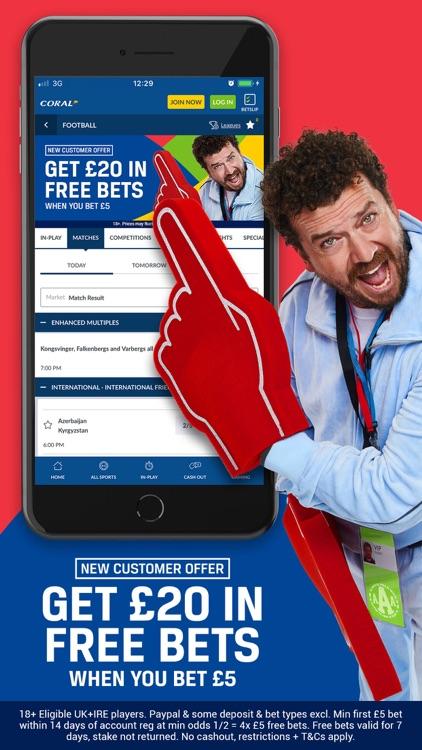 Coral Sports Betting & Casino screenshot-0