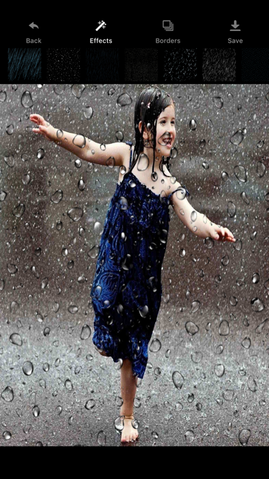 Rain Photo Maker - Rain Effect screenshot two