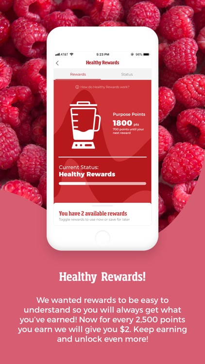 Smoothie King Healthy Rewards screenshot-3