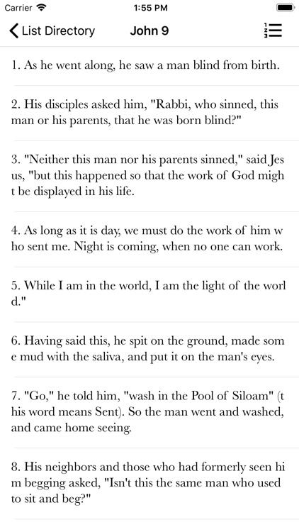 NIV Bible Books & Audio screenshot-1
