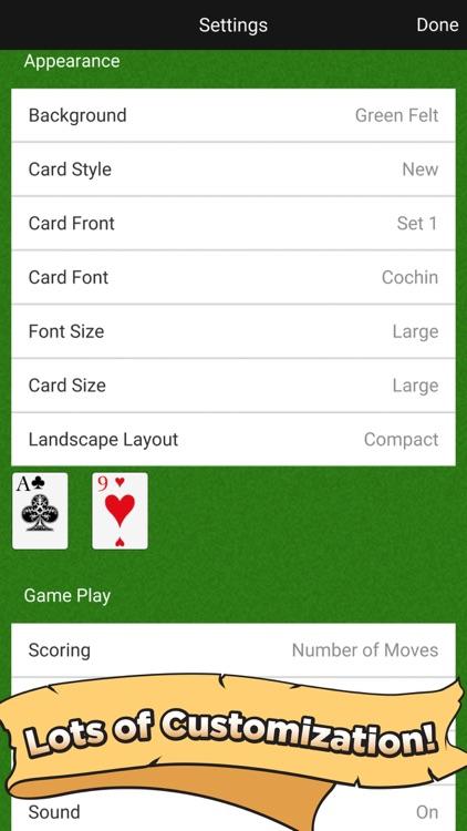 Free Cell Classic screenshot-4