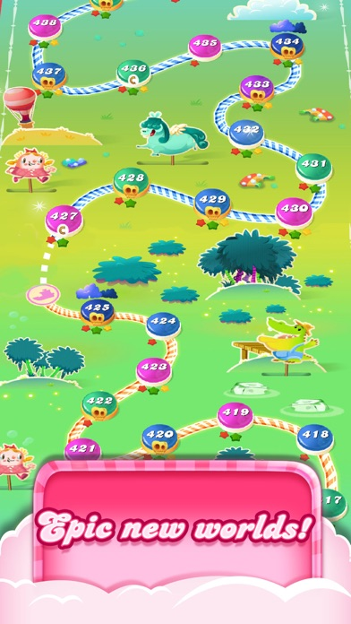 Candy Crush Saga screenshot four
