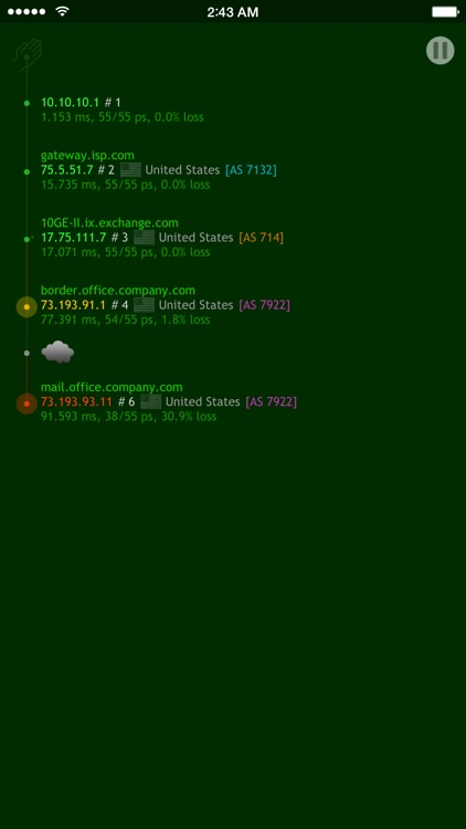 Nice Trace - Traceroute